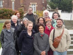 équipe des Arts du Feu 2016 et membres d'honneur